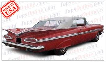 1959 And 1960 Chevy Impala Convertible Tops Accessories