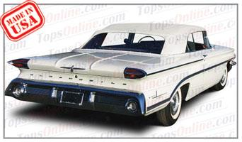 Convertible Tops & Accessories:1959 and 1960 Oldsmobile Dynamic 88, Super 88 & 98 (Ninety Eight)