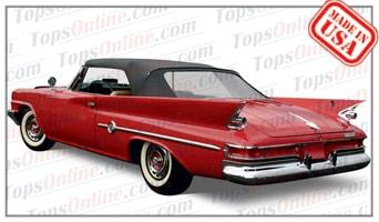 Convertible Tops & Accessories:1960 and 1961 Chrysler 300, New Yorker, Newport & Windsor
