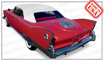 Rubber Weatherstrips (Weather Seals):1960 and 1961 Plymouth Fury & Sport Fury Convertible