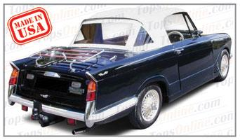 Convertible Tops & Accessories:1960 thru 1970 Triumph Herald, Vitesse, Sports Six, 1200 & 13-60