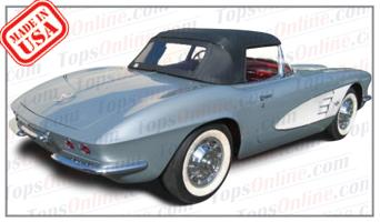 Convertible Tops & Accessories:1961 and 1962 Chevrolet Corvette