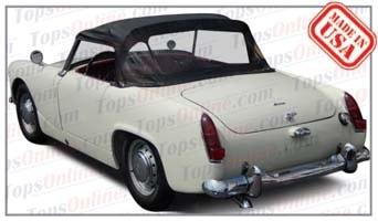 Convertible Tops & Accessories:1961 thru 1964 Austin Healey Sprite MK II (Mark 2)