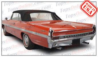 Convertible Tops & Accessories:1961 thru 1964 Pontiac Bonneville, Catalina & Parisienne