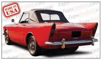 Convertible Tops & Accessories:1961 thru 1964 Sunbeam Alpine Series II Sport Roadster
