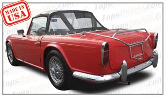 Convertible Tops & Accessories:1961 thru 1965 Triumph TR4 Roadster