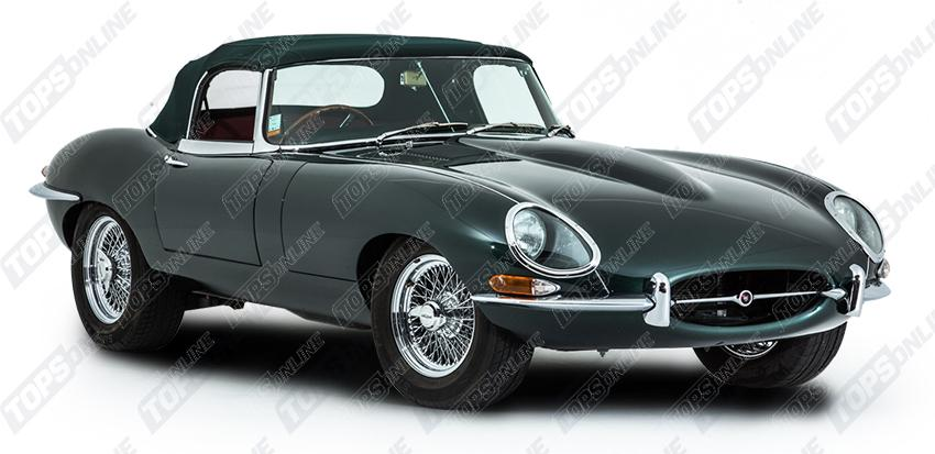 Convertible Tops & Accessories:1961 thru 1971 Jaguar XKE Roadster & E-Type (Series I & II)