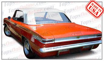 Convertible Tops & Accessories:1962 and 1963 Buick Gran Sport (GS), Skylark & Special