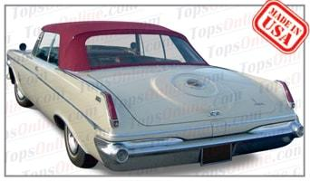 Convertible Tops & Accessories:1962 and 1963 Chrysler Imperial Crown