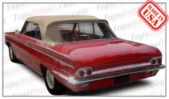 Convertible Tops & Accessories:1962 and 1963 Oldsmobile Cutlass & F-85