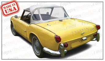 Convertible Tops & Accessories:1962 thru 1967 Triumph Spitfire 4, Mark I & Mark II Roadster