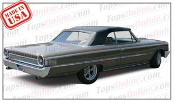 Convertible Tops & Accessories:1963 Ford Galaxie 500 & Galaxie 500XL