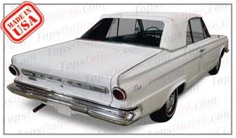 Rubber Weatherstrips (Weather Seals):1963 and 1964 Dodge Dart 270 & Dart GT (A Body) Convertible