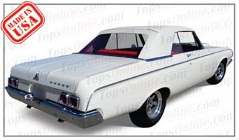 Rubber Weatherstrips (Weather Seals):1963 and 1964 Dodge Polara & Polara 500 (B Body) Convertible