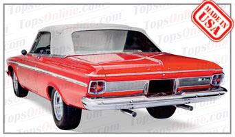 Convertible Tops & Accessories:1963 and 1964 Plymouth Fury & Sport Fury (B Body)