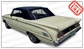 Convertible Tops & Accessories:1963 thru 1965 Mercury Caliente, Comet Custom & Comet S-22