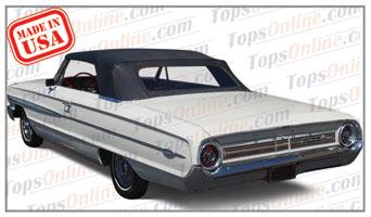 Rubber Weatherstrips (Weather Seals):1964 Ford Galaxie 500 & Galaxie 500XL Convertible