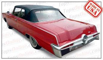 Convertible Tops & Accessories:1964 thru 1966 Chrysler Imperial Crown