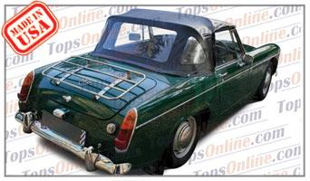 Convertible Tops & Accessories:1964 thru 1966 MG Midget MK II Roadster