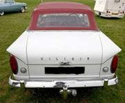 Convertible Tops & Accessories:1964 thru 1967 Hillman Minx