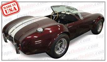 Convertible Tops & Accessories:1964 thru 1968 Shelby Cobra AC Bristol