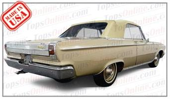 Convertible Tops & Accessories:1965 Dodge Coronet 440 & Coronet 500 (B Body)