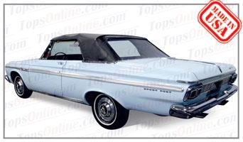 Convertible Tops & Accessories:1965 Plymouth Belvedere II & Belvedere Satellite (B Body)