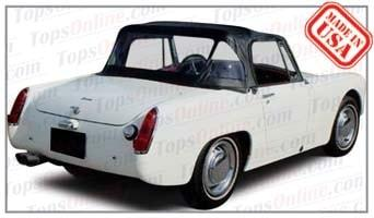 Convertible Tops & Accessories:1965 and 1966 Austin Healey Sprite MK III (Mark 3)