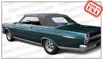 Convertible Tops & Accessories:1965 and 1966 Ford Galaxie 500 & Galaxie 500XL