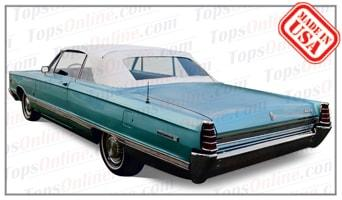 Convertible Tops & Accessories:1965 and 1966 Mercury Meteor, Monterey, S-55 & Parklane