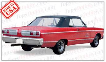 Convertible Tops & Accessories:1965 and 1966 Plymouth Fury III & Sport Fury (C Body)