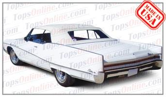 Convertible Tops & Accessories:1965 thru 1970 Buick Electra, Electra 225