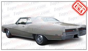 Convertible Tops & Accessories:1965 thru 1970 Buick Lesabre & Wildcat