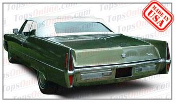 Convertible Tops & Accessories:1965 thru 1970 Cadillac Eldorado & Deville