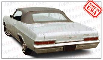 Convertible Tops & Accessories:1965 thru 1970 Chevy Impala & Impala SS