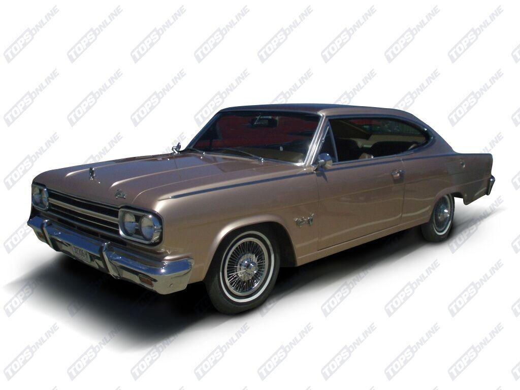 Rubber Weatherstrips (Weather Seals):1966 AMC Marlin 2-Door Hardtop