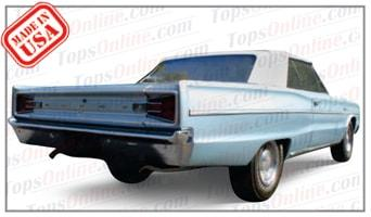 Rubber Weatherstrips (Weather Seals):1966 Dodge Coronet 440 & Coronet 500 (B Body) Convertible
