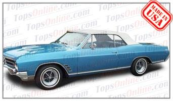 Convertible Tops & Accessories:1966 and 1967 Buick Gran Sport (GS), Skylark & Special
