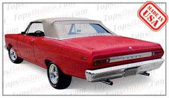 Convertible Tops & Accessories:1966 and 1967 Mercury Caliente, Comet, Cyclone & Cyclone GT