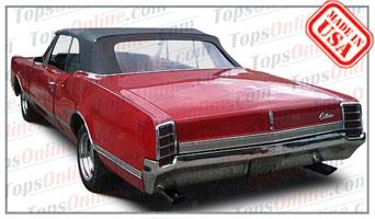 1966 And 1967 Oldsmobile F 85 442 Cutlass Convertible Tops Accessories