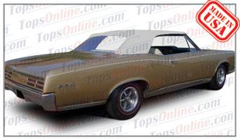 Convertible Tops & Accessories:1966 and 1967 Pontiac GTO, Lemans, Tempest & Beaumont