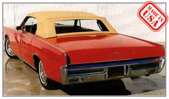 Convertible Tops & Accessories:1966 thru 1968 Lincoln Continental 4 Door Convertible