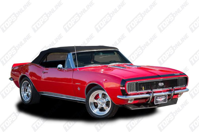 Door Panels (Factory and Aftermarket Styles):1967 Chevy Camaro Convertible Only