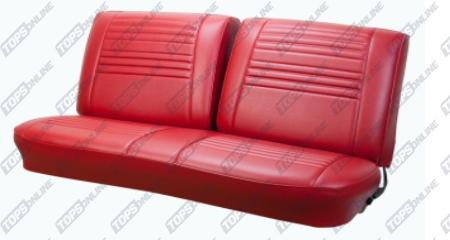 Seat Covers (Factory Style):1967 Chevy Chevelle Convertible Only