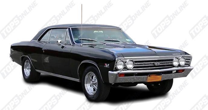 Door Panels (Factory and Aftermarket Styles):1967 Chevy Chevelle Coupe Only