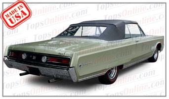 Convertible Tops & Accessories:1967 and 1968 Chrysler 300 & Newport