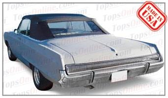 Rubber Weatherstrips (Weather Seals):1967 and 1968 Dodge Polara & Polara 500 (C Body) Convertible