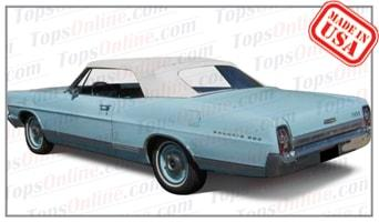 Convertible Tops & Accessories:1967 and 1968 Ford Galaxie 500 & Galaxie XL