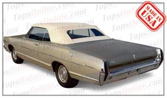 Convertible Tops & Accessories:1967 and 1968 Mercury Meteor, Monterey & Parklane