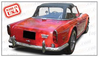 Convertible Tops & Accessories:1967 and 1968 Triumph TR250 (TR5 Europe) Roadster